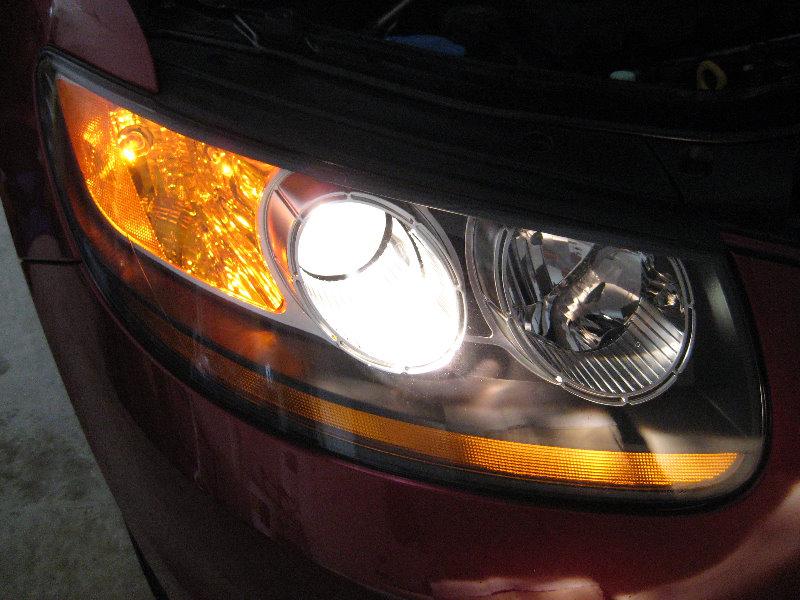 2007 Hyundai Santa Fe Headlight Bulb >> Hyundai Santa Fe Headlight Bulbs Replacement Guide 032