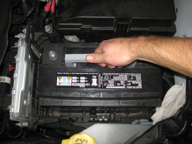 2014 2018 Jeep Cherokee 12v Automotive Battery Replacement