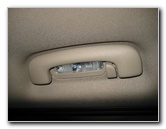 Jeep Grand Cherokee Rear Passenger Courtesy Reading Light Bulb Replacement Guide