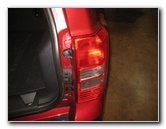 Jeep Patriot Tail Light Bulbs Replacement Guide 2007 To
