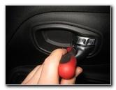 Jeep Renegade Plastic Interior Door Panels Removal Guide