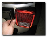 Jeep Wrangler Tail Light Bulbs Replacement Guide Brake
