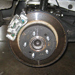 Kia Optima Rear Disc Brake Pads Replacement Guide