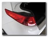 Kia Optima Tail Light Bulbs Replacement Guide 2011 To