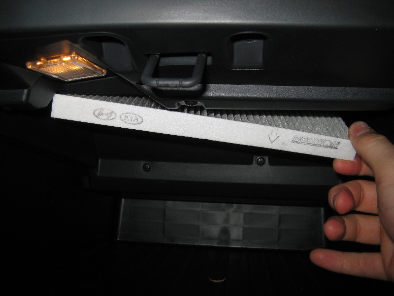 Kia Rio Cabin Air Filter Replacement Guide