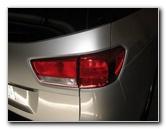 2015-2018 Kia Sedona Tail Light Bulbs Replacement Guide