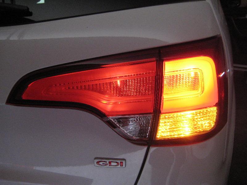 Kia Sorento Tail Light Bulbs Replacement Guide 030