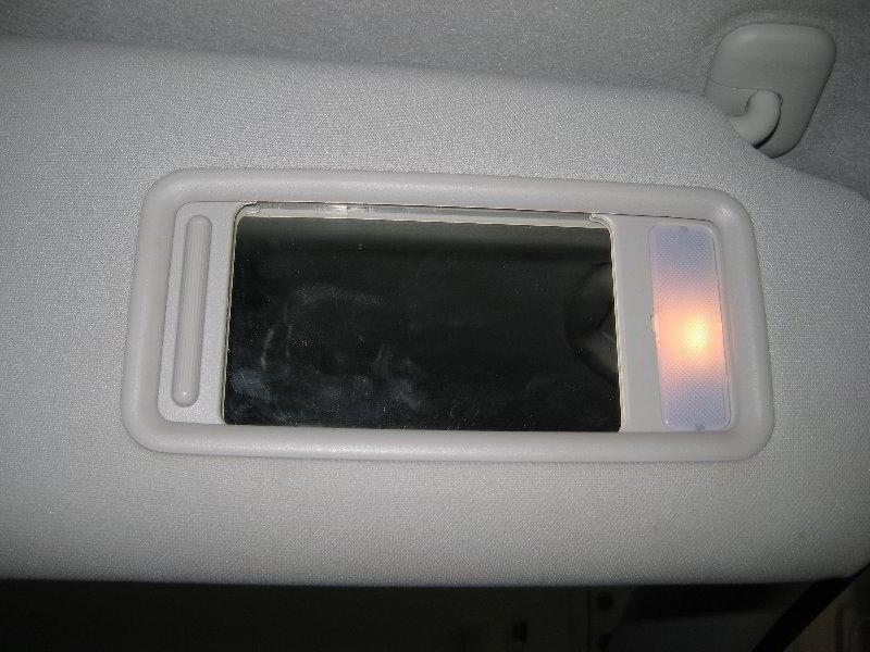 Mazda Cx 9 >> Mazda-CX-9-Sun-Visor-Vanity-Mirror-Light-Bulb-Replacement ...