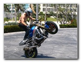 Team One AllStars Sportbike Stunt Show Pictures