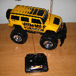 New Bright Hummer 6V R/C Truck Review