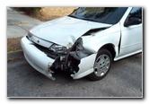 Nissan 200SX Crash Damage Pictures