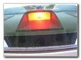 Nissan Altima Third Brake Light Bulb Guide