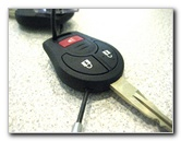 Nissan Cube Key Fob Remote Control Battery Replacement