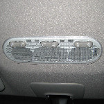 Nissan Cube Overhead Map Light Bulbs Replacement Guide