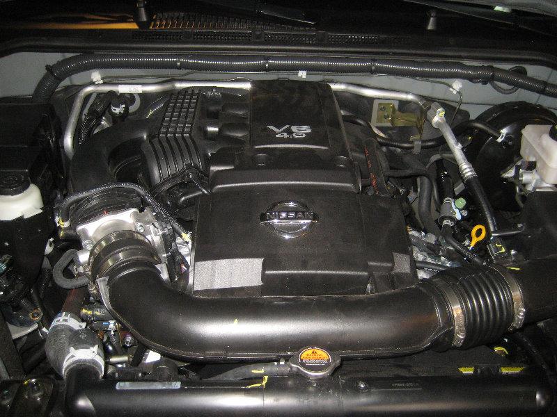Nissan-Frontier-VQ40DE-V6-Engine-Serpentine-Belt ...