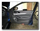 2016-2018 Nissan Maxima Plastic Interior Door Panel Removal Guide