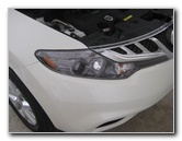 2009-2014 Nissan Murano Headlight Bulbs Replacement Guide