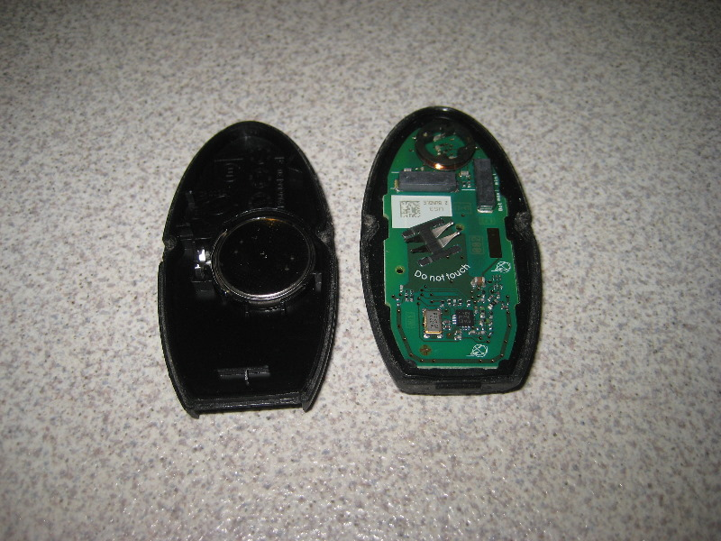 Nissan Murano Intelligent Key Fob Battery Replacement