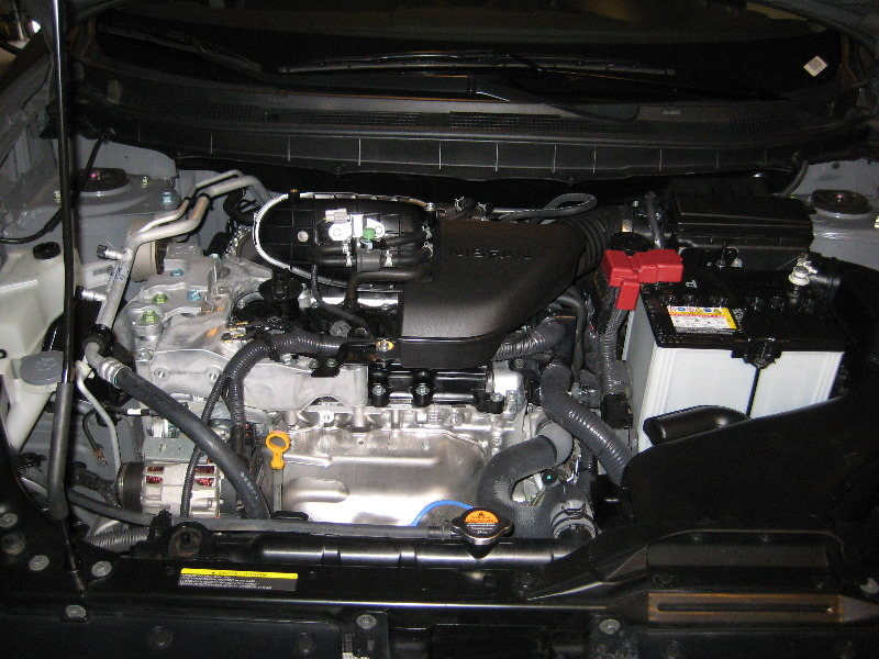 Nissan Rogue Qr25de I4 Engine Oil Change Guide 001