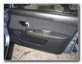 how to remove nissan micra door panel