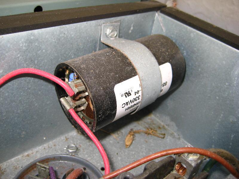 Rheem Hvac Condenser Run Capacitor Replacement Guide 011