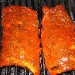 Smoked Barbecue Pork Baby Back Ribs