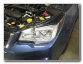 2014-2018 Subaru Forester Headlight Bulbs Replacement Guide