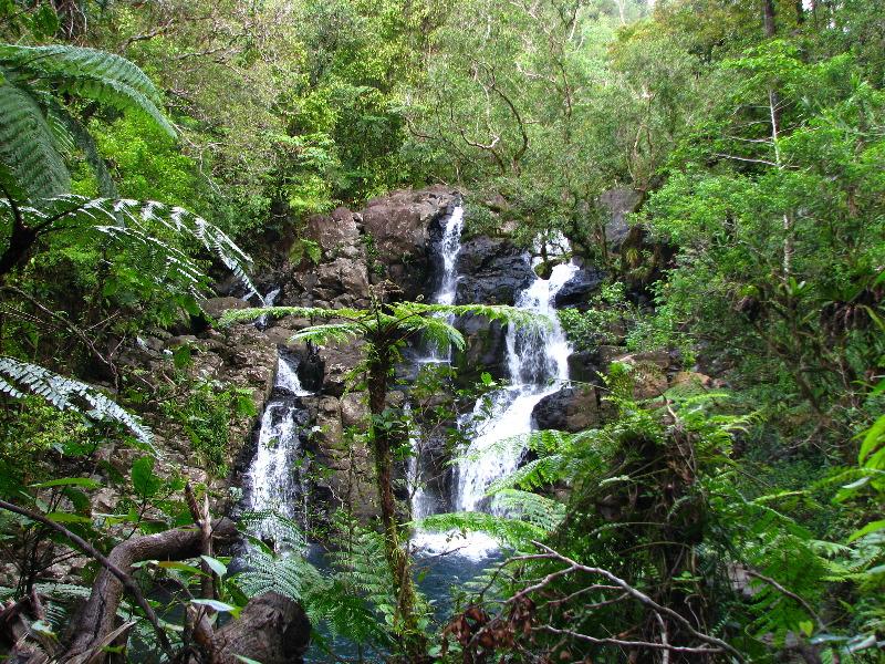 Tavoro River Waterfalls Bouma Park Taveuni Fiji 104