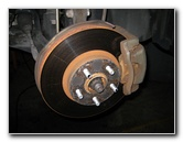 Toyota Corolla Front Brake Pads Replacement Guide