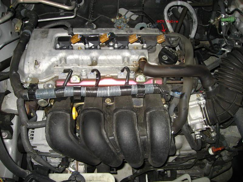 2001 chevy prizm engine diagram toyota corolla pcv valve replacement guide 008  toyota corolla pcv valve replacement guide 008