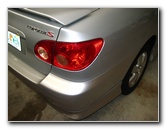 Toyota Corolla Tail Light Bulbs Replacement Guide