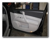 Toyota Highlander Interior Door Panel Removal Guide