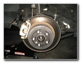 Toyota Highlander Rear Disc Brake Pads Replacement Guide
