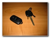 Toyota Key Fob Remote Control Battery Replacement Guide