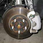 Toyota Prius Front Brake Pads Replacement Guide