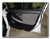 Toyota Prius Front Door Panel Removal Guide