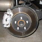 Toyota Prius Rear Disc Brake Pads Replacement Guide