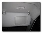 Toyota Rav4 Vanity Mirror Light Bulb Replacement Guide