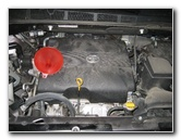 Toyota Sienna 2GR-FE 3.5L V6 Engine Oil Change Guide