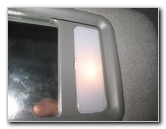 Toyota Tacoma Vanity Mirror Light Bulb Replacement Guide
