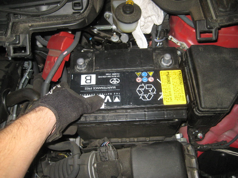 2012 2016 Toyota Yaris 12v Automotive Battery Replacement