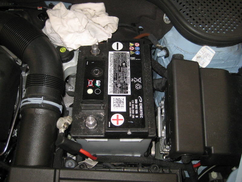 vw beetle 12 volt automotive battery replacement guide 009. Black Bedroom Furniture Sets. Home Design Ideas