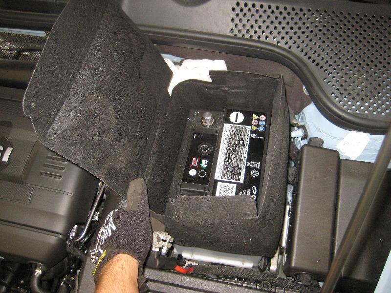 vw beetle 12 volt automotive battery replacement guide 019. Black Bedroom Furniture Sets. Home Design Ideas