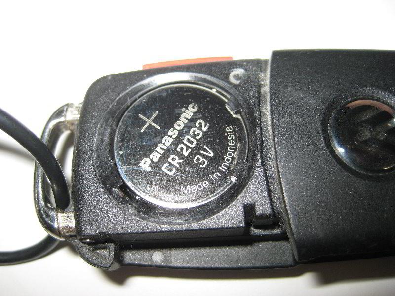 2011 vw jetta key battery replacement
