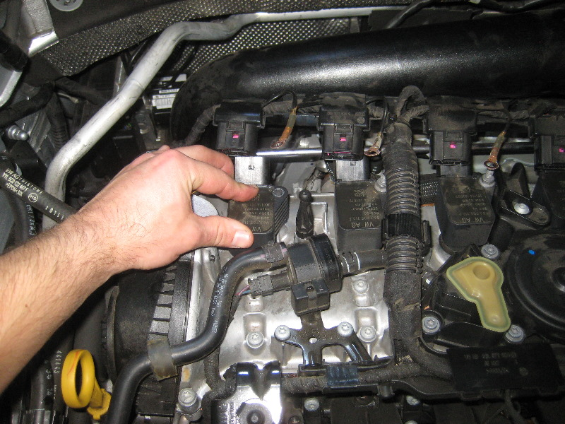 vw passat turbo  engine spark plugs replacement guide